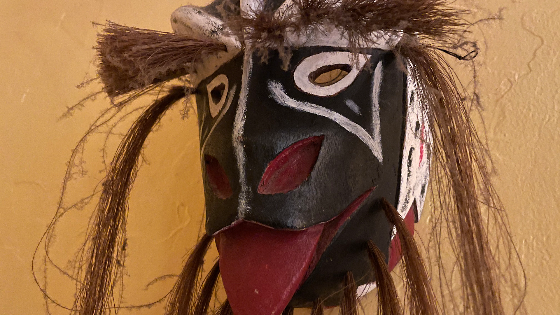 The Yaqui People Mask